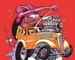 Fan Clubs Zines Collectibles Rat Fink Ed Roth Vintage Vinyl Decal Big Daddy Hot Rod 39 Styles Car Stickers Comics Collectibles