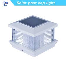 China Loyal Without Wires Solar Product Solar Powered Led Outdoor 4x4 Inch 5x5 3 5 4 5 5 5 Solar Decorative Fence Post Cap White Solar Garden Light China Solar Light Solar Fence Light