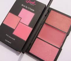 sleek makeup pink lemonade blush by 3