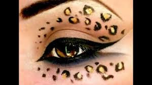 leopard print make up tutorial