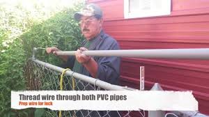 Roll Bar Fence Diy Keep Your Pets In Others Out Youtube