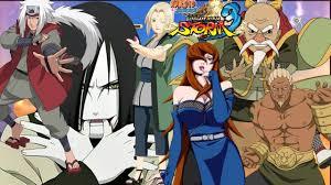 Naruto Ultimate Ninja Storm 3 - Team Sannin vs Team Kage - YouTube