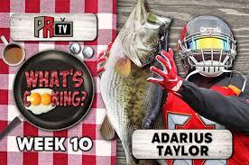 What's Cooking?: Adarius Taylor   Pewter Report