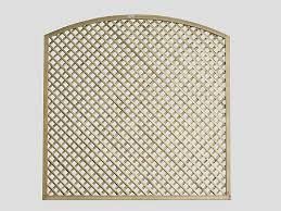 Continental Diamond Trellis Curved Diamond Lattice Trellis Fence Panel Pennine Fencing Landscaping
