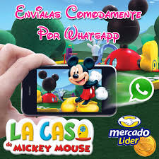 Invitacion Virtual Digital La Casa De Mickey Video Whatsapp Bs