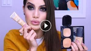 my top 5 foundations makeup tutorials