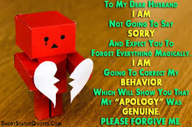 sorry status for husband i am sorry messages for husband