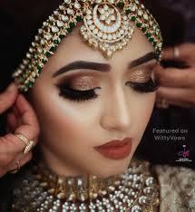 dull red lip bridal makeup