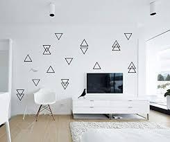 Amazon Com 100 Triangle Wall Decals Self Adhesive Nursery Wall Decals Little Peaks Wall Stickers Vinyl Stickers Geometric Wall Decal Modern Decor Handmade