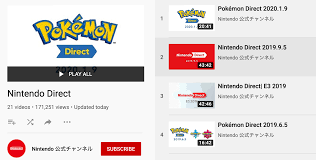 Nintendo Direct Playlist Updated On ...