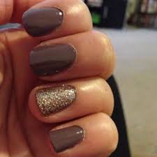 embellished nail art ideas fall colors