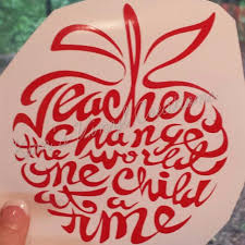 Best Teacher Car Decal For Sale In Mobile Alabama For 2020