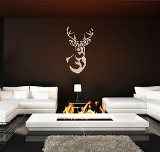 Deer Head Taxidermy Wall Decals The Decal Guru