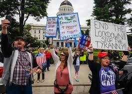 Newsom tells coronavirus protesters he ...