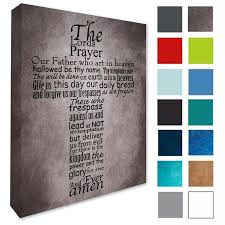 The Lords Prayer Wall Decal Picture Wall Art Lords Prayer Wall Etsy