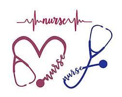 Custom Pulse Trauma Nurse Vinyl Decal Ekg Rn Cna Lpn Gift Heart Beat Nursing Bumper Sticker Car Windows Laptops For Tumblers Stickers
