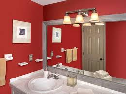 make a mirror frame for the bathroom