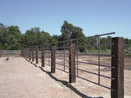 Cattle Fence Outdoor Farm Safety Ideas Very Great Interior Idea