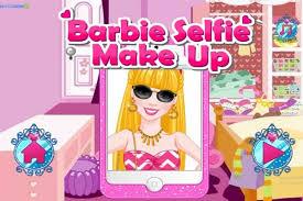 barbie selfie make up make up games
