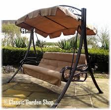 rimini garden swing bench hammock