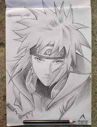 Minato Namikaze. ? my last summer drawing . : Naruto | Naruto sketch  drawing, Anime drawings sketches, Anime sketch