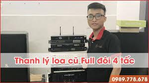 Kim Bảo Audio - Thanh lý loa cũ full đôi 4 tấc BB Sound
