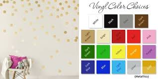 Easy Peel Stick Gold Wall Decal Dots 2 Inch 200 Decals Safe On Walls Paint In 2020 Gold Wall Decals Polka Dot Decor Gold Walls