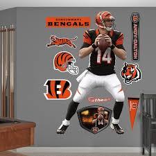 Fathead Cincinnati Bengals Andy Dalton Wall Decals