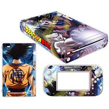 Dragon Ball Super Skin Sticker For Nintendo Wii U Console Cover With Remotes Controller Skins For Nintend Wii U Sticker Stickers Aliexpress