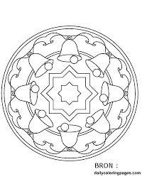 Kleurplaten Kerst Mandala En Digitaal Mandala Kleuren Hobby Blogo Nl