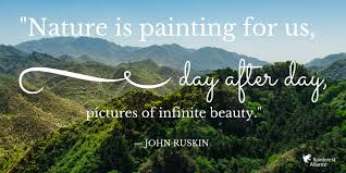 rainforest alliance on nature is painting for us day