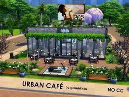 galadrijella s urban cafe sims 4