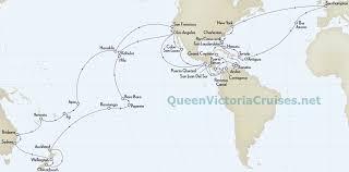 cunard queen victoria world cruise 2020
