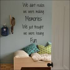 Large Childrens Quote We Didn T Realize Making Memories Wall Art Sticker Decal Home Garden Decor Decals Stickers Vinyl Art
