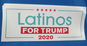 Wholesale Lot Of 10 Latinos For Trump 2020 Stickers Hispanic Vote Support Usa Ebay
