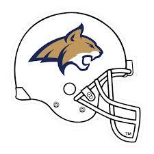 Montana State Football Helmet Decal Scs Wraps