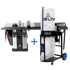 Delta 3 Hp Left Tilt Unisaw Table Saw With 52 In Biesemeyer Fence System 36 L352 The Home Depot