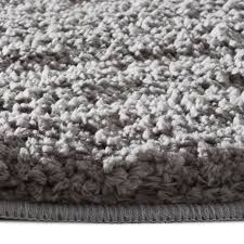 bath mat rug silver grey 6 sizes