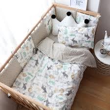 baby bedding set nordic cotton woven