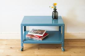 ikea coffee table on casters for