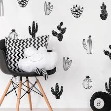 Cactus Wall Decals Woodland Tribal Vinyl Sticker Art Succulent And Cacti Decor Ebay