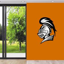 Knight Mascot Printed Wall Decals Wall Decor Stickers