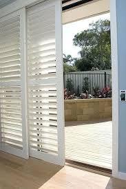 sliding louvered patio doors