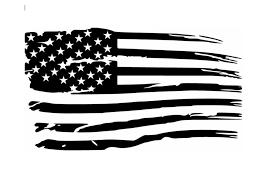 Distressed American Flag Vinyl Decal American Flag Decal American Flag Sticker American Flag Tattoo