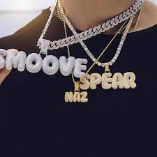 CUSTOM BUBBLE LETTER NECKLACES *NEW* – Gold Empire