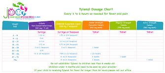 tylenol dosage chart jonesboro