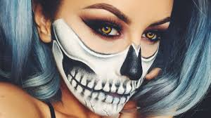 halloween skull makeup chrisspy you