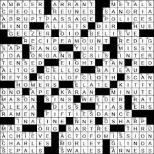 absolute crossword clue archives