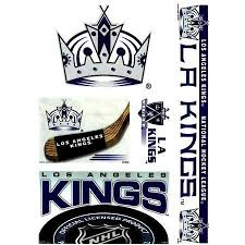 Los Angeles Kings Official Logo Window Cling Decal Set By Nhl 7 00 Show Your Team Pride Everywhere You Go You Get Five Window Clings Vibrant Colors Outdoor