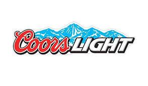 Coors Light Sticker Decal Different Sizes Beer Car Bumper Bar Window Wall